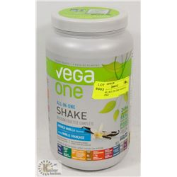 VEGA ONE, ALL IN ONE VANILLA SHAKE 876G