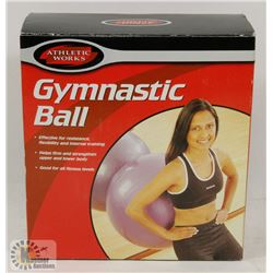 ATHLETIC WORKS GYMNASTIC BALL IN BOX
