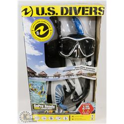 U.S. DIVERS GO PRO READY SNORKEL SET