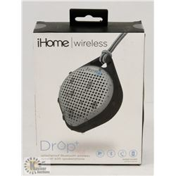 IHOME DROP+ SPLASHPROOF  BLUETOOTH SPEAKER