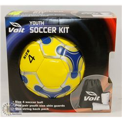 NEW VOIT YOUTH SOCCER KIT