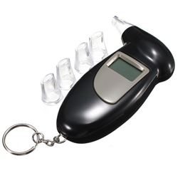 NEW DIGITAL ALCOHOL BREATH TESTER