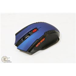 NEW BLUE WIRELESS GAMING MOUSE