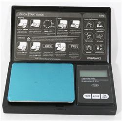 NEW BLACK DIGITAL SCALE