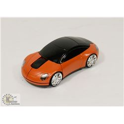 NEW ORANGE CAR WIRELESS MOUSE