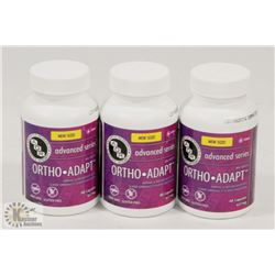 3 BOTTLES OF ADVANCED SERIES ORTHO-ADAPT PILLS