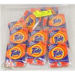 BAG OF TIDE TRAVEL PACKETS, 3 USES PER PACKAGE