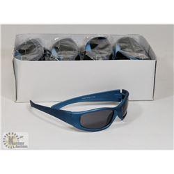 BOX OF OCEAN BLUE DESIGNER SUNGLASSES