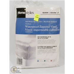 HOMESTYLES MATTRESS PROTECTOR SIZE QUEEN