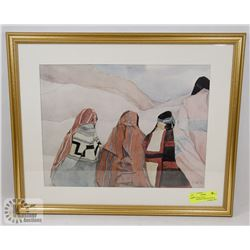 FRAMED PRIVATELY COMMISSIONED LIMITED EDITION