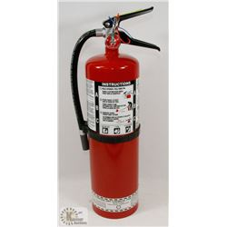 STRIKE FIRST MULTI PURPOSE ABC10 DRY EXTINGUISHER.