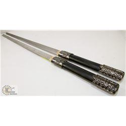 PAIR OF SWORDS.