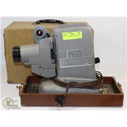 VINTAGE PROJECTOR WITH CASE