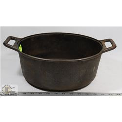 CAST IRON LARGE LODGE POT, MADE IN USA