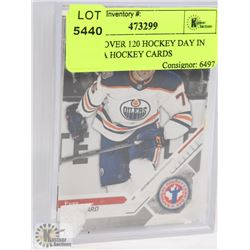 LOT OF OVER 120 HOCKEY DAY IN CANADA HOCKEY CARDS
