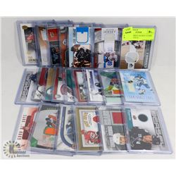 LOT OF 23 JERSEY HOCKEY CARDS - ASSORTED SETS &