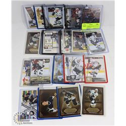 LOT OF 31 SIDNEY CROSBY HOCKEY CARDS - ASSORTED