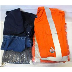 FLAT OF SAFETY WEAR WORK GEAR