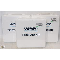 GROUP OF 3 NEW FIRST AID KITS