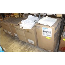 5 BOXES OF DUPONT TYCHEM DISPOSABLE COVERALLS SZ