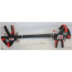 """LOT OF 3 NEW 18"""" BESSEY TRIGGER CLAMPS"""