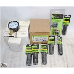 FLAT OF GREENLEE PRODUCTS & ACCUTEK GAUGES