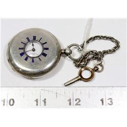 SWISS MADE JOHN WALKER DEMI HUNTER POCKET WATCH