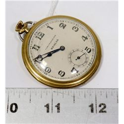 REGLIA GOLD PLATED POCKET WATCH WORKING