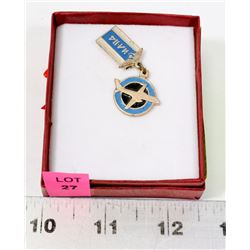 RUSSIAN PILOT AIRPLANE PIN/MEDAL