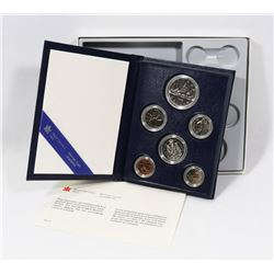 1982 CANADIAN SPECIMEN COIN SET