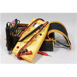 DIGITAL MULTIMETER WITH CASE.