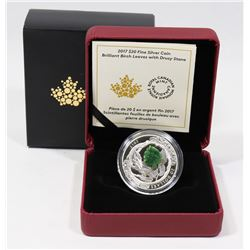 RCM PURE SILVER COIN 2017 $20 PURE SILVER COIN
