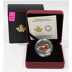RCM FINE SILVER COIN 2016 $20 SILVER COIN WITH