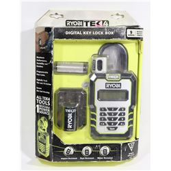 RYOBI DIGITAL KEY LOCK BOX