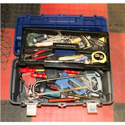 MASTERCRAFT TOOL BOX WITH TOOLS