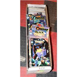 BOX OF ASSORTED COMICS 300 PLUS, MANY #1 DC ISSUES