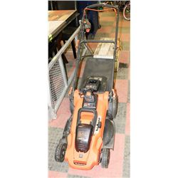 BLACK AND DECKER 40V RECHARGEABLE REAR BAGGER