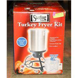 NEW STERLING TURKEY FRYER
