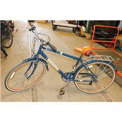 POLICE SEIZURE HUFFY ARLINGTON BLUE WITH RED &