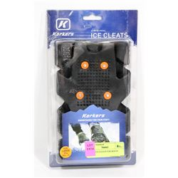 SET OF ICE CLEATS FOR BOOTS