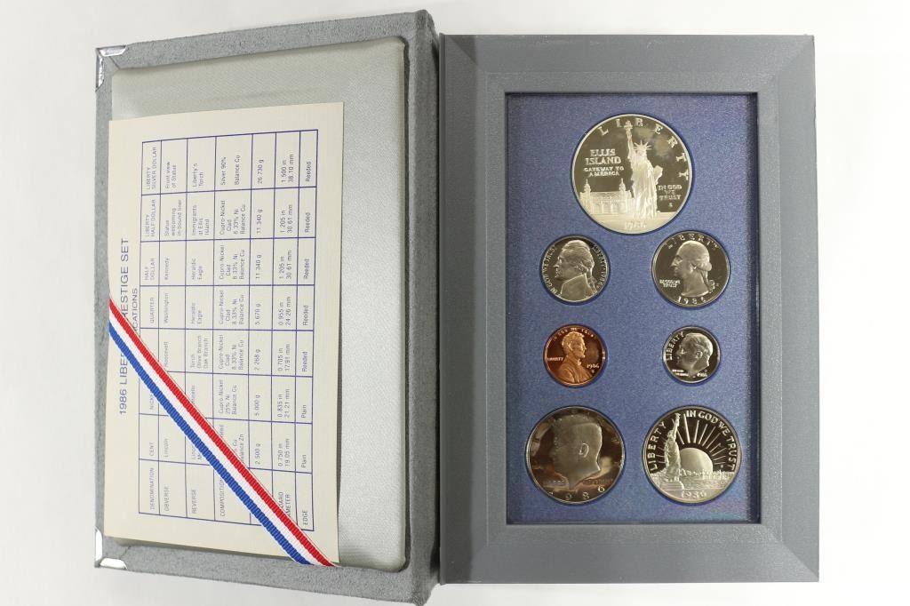 1986 U.S Mint Proof Set Original Mint Pkg