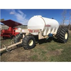 Pattison FB2100 Liquid Cart, VIN FB09210009