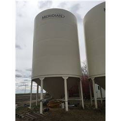 Meridian Epoxy Lined Fertilizer Hopper Bin, Model 1620-EL