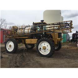 2000 Rogator 1254 High Clearance Sprayer, 1000 Gal Stainless Steel Tank