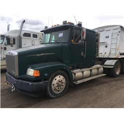 Volvo Semi, Green, 1998, Detroit 18 speed