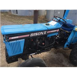 "Bison II Utility Tractor, 25 HP Diesel with 42"" Deck PTO Mower"