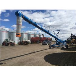 Brandt 13-70 Auger with Swing Pickup, 70 ft long with 13 inch diameter