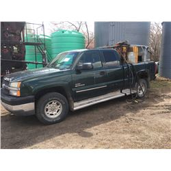 Chev Silverado 2500 Truck, 2003, Green, 510,611Km, Diesel, 4x4(runs well)