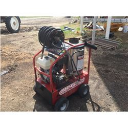 Steam Cleaner Pressure Washer, 15 HP Motor, Electric Start