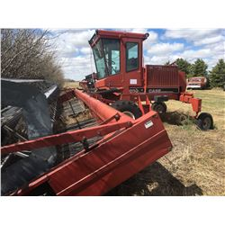 Case 6000 Swather with header, 1983, 3917 hrs, 36 ft, 4BPL Gas